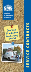 SMS Service Contract Brochure
